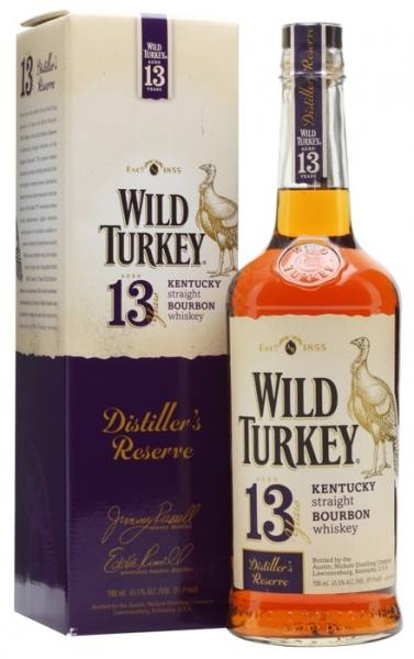 wild turkey 13 years old distiller s reserve kentucky straight bourbon whisky mit etui kaufen