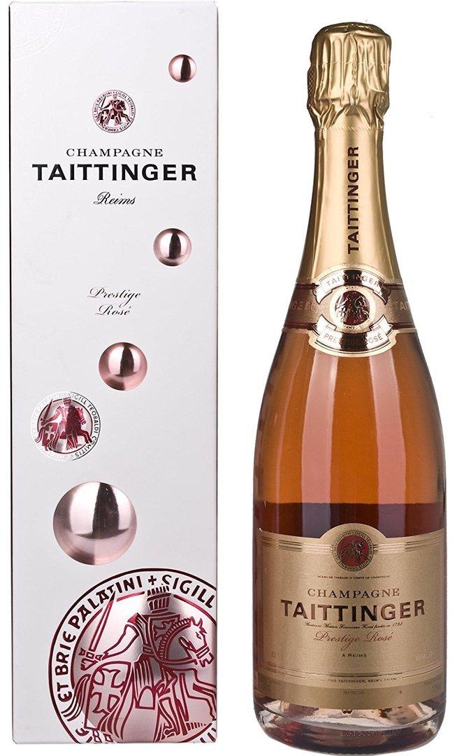 FR: Taittinger Rosé Prestige Champagne 75cl