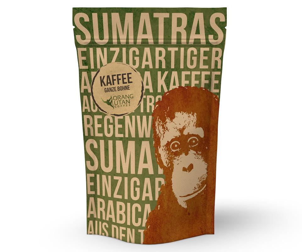 MO: Indonesien Orang-Utan-Kaffee 250g